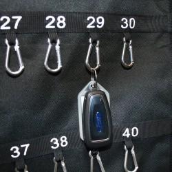 Tasca per chiavi con 2 maniglie