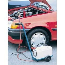 Carrello porta batteria auto