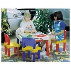 Set tavolino e sedie per bambini